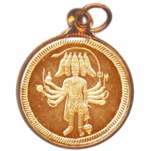 Sacred Lockets - Coins - Panchamukhi Hanuman Panchamukhi