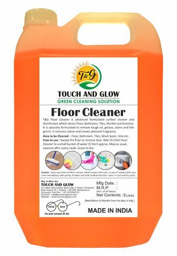 Liquid Floor Cleaner, Packaging Type: Carboy