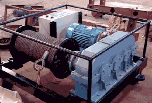 M S Engineers Electric Winch Machine, Capacity: 3 Ton
