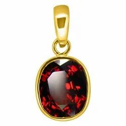 Gomed Pendent Men and Women Panchdhatu Gemstone