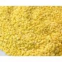 Aaha Impex Yellow Moong Dal Mogar, Packaging Size: 1 Kg, Packaging Type: Packets