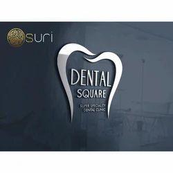 Dental Square Logo Designing Service