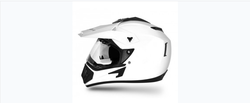 Off Road D V White Helmet