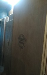 Commercial Brown Plain Doors, Size: 6*2.5 To 7*3