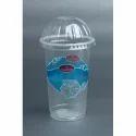 500 ML Transparent Plastic Shake Glass