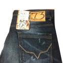 Pepe Jaens Button Mens Distressed Denim Jeans, Waist Size: 34 And 38