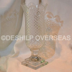 Crystal Glass Hurricane Lamps