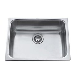 Silver SS Bowl Kitchen Sink
