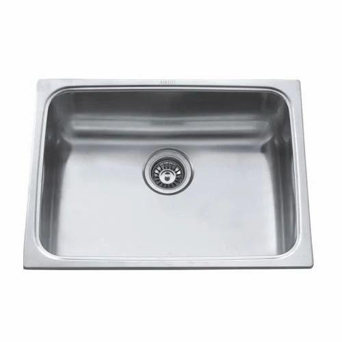 Viva Ceramic Silver Ss Bowl Kitchen Sink
