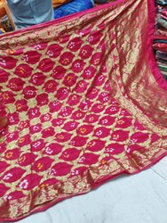 Bandhani Silk Dupatta