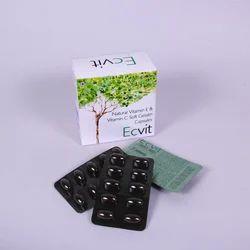 Vitamin E & Vitamin C Soft Gelatin Capsules