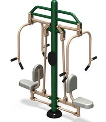 Open door Chest Press Machine