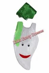 Kids Smiley Radish Cutout Costume