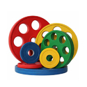 Color Rubber Weight Plates