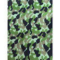 Polyester Matty Army Fabric