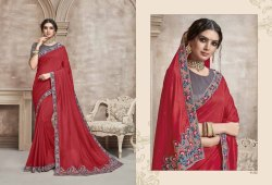 Partywear Designer Sarees From Catalog Namaste 7