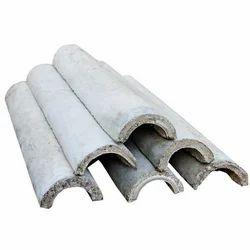 Half Round Cement Pipe