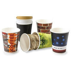 White 90 Ml Paper Tea Cup, Size: 90ml, Packaging Type: Bundle