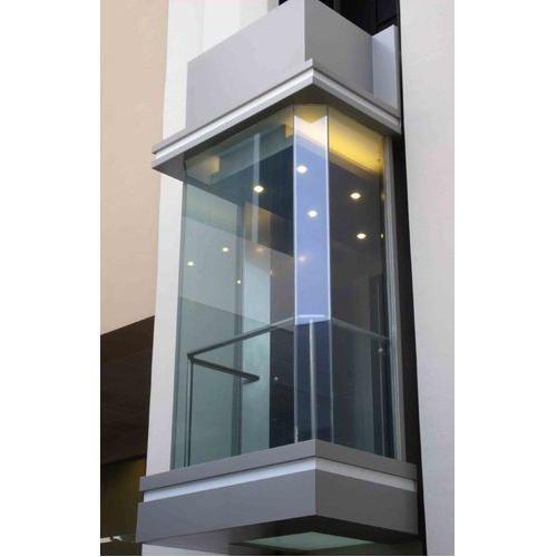 Kone Glass Passenger Elevator