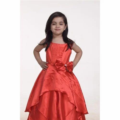 63ba7bd1927f Party Wear Do Not Bleach Baby Gown
