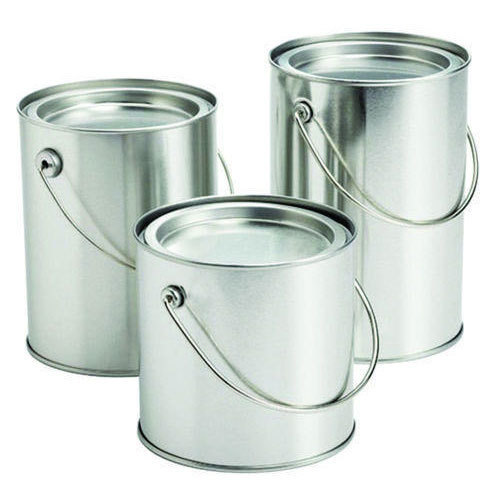 Tin Container With Handle