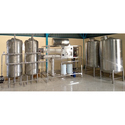 Stainless Steel Hs Reverse Osmosis Plant Fully Ss, Ro Capacity: 1000-2000 (liter/hour)