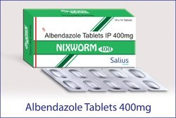 Nixworm-400 ( Albendazole Tablets 400 mg)