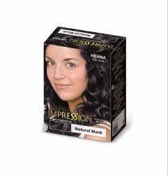Impression Black Heena, for Parlour