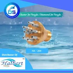 Fountain Cluster Jet Nozzle, Diamond Jet Nozzle - HA-269