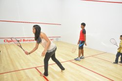 Squash Court Wooden Flooring System
