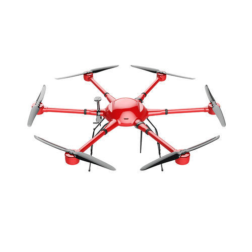 Hexacopter Drone Frame at Rs 195000 /piece | ड्रोन - Skyport ...