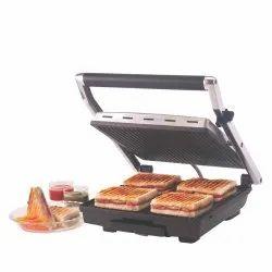 Steel 2000 Watts Borosil Super Jumbo Grill Sandwich Maker, For Sandwich Maker Griller