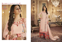 Ladies Georgette Embroidered Western Wear Palazzo and Kurti