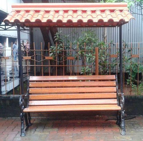Garden Bench With Roof Size Feet L
