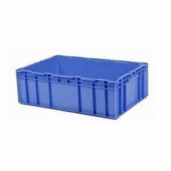 Blue Plastic Crates
