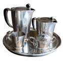 Premium Design Metal Healthy Tea Set For Serving Beverages