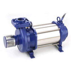 Single Phase Stainless Steel Open Well Submersible Pump, 1 To 2 In