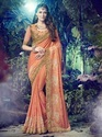 Georgette And Chiffon Wedding Wear Saree
