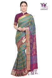 YNF Ikkat Silk Series 29331-29341 Stylish Party Wear Nylon Soft Silk Saree