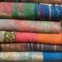 Simple Vintage Kantha Quilt