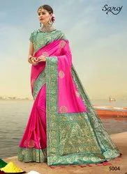 Stylish Fancy Designer Wear Saree