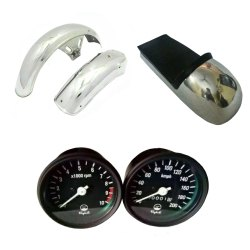Yamaha Motorcycle Fender Set, Seat, Speedometer Assembly Replacement Spare Parts