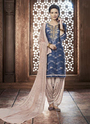 Embroidery Work Patiala Suit