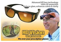 New HD Vision Wraparounds Sunglasses/ Night Vision Glasses