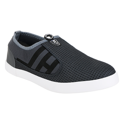 Grey Black Casual Shoes