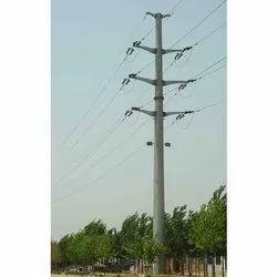 Mono Pole Transmission Pole