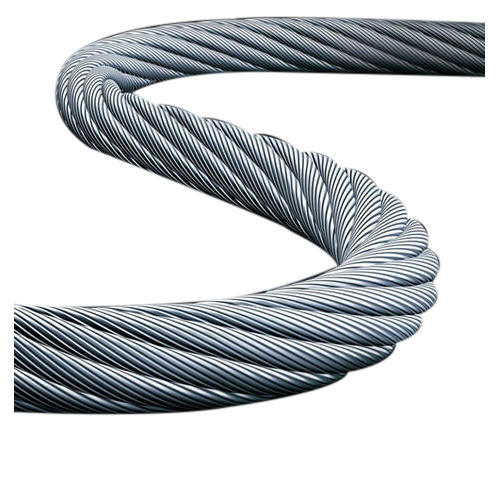Industrial Galvanized Steel Wire Rope at Rs 39 /meter | Damtal ...