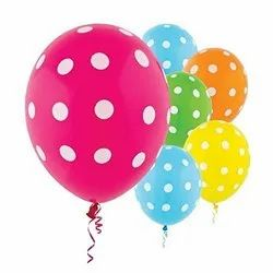 Colourful Polka Dot Balloons