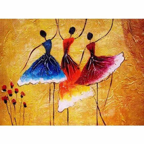 Madhubani Tribal Painting Art