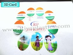 Promotional  3d Card